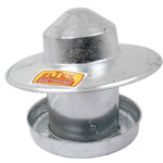 Galvanised feeder