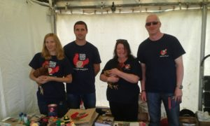 Our volunteers at Cornwall Royal Show 2016