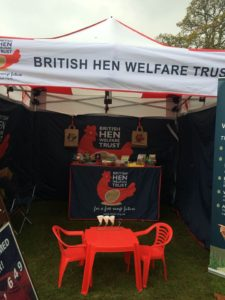 Our stand at Powderham Food Festival 2016