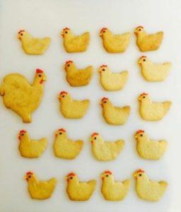 Hen biscuitws