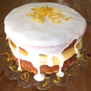 Yvonne Brunotte's lemon curd cake