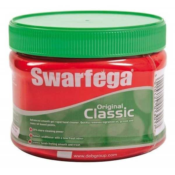 Figure 3: Swarfega: smear a thick coating to the legs daily for one week