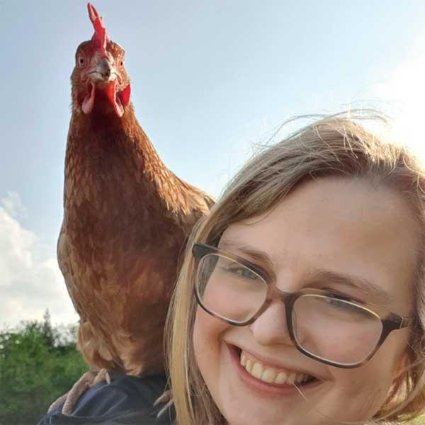 Ellie Jones' Joyce – living the high life!