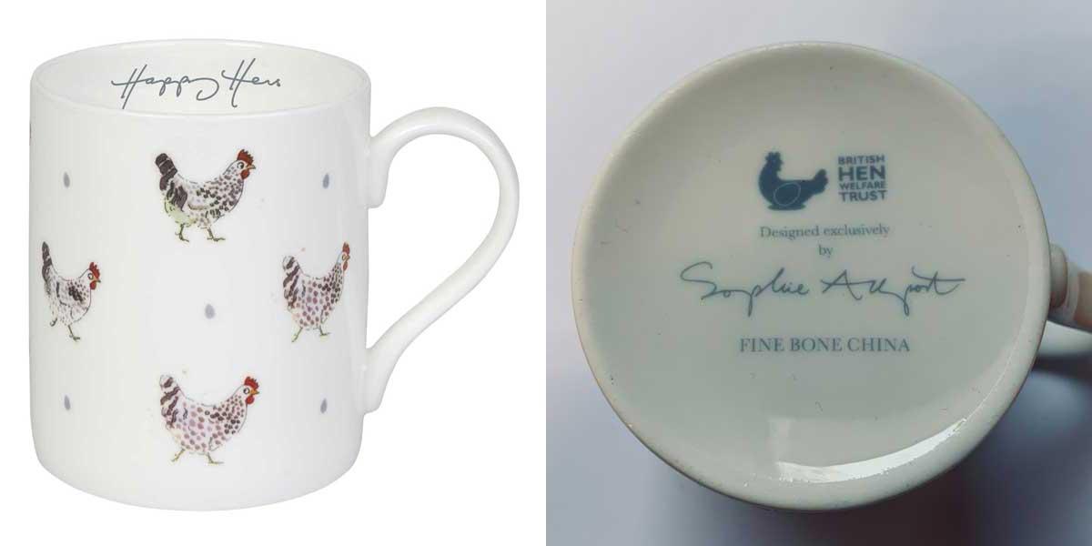 Sophie Allport Happy Hens Mugs