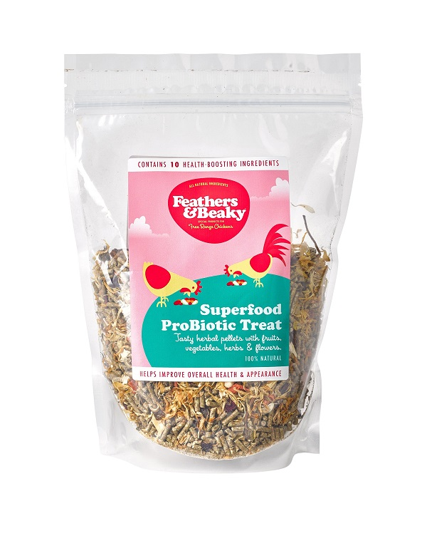Probiotic treat for hens available on our shop
