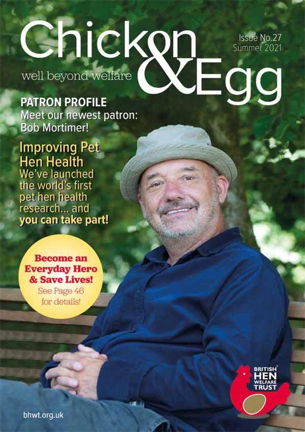 Chicken & Egg Magazine Issue 27 Cover