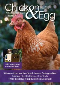 Chicken and Egg Magazine Issue 25 Cover